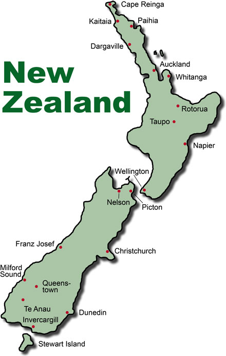 Gateway to New Zealand