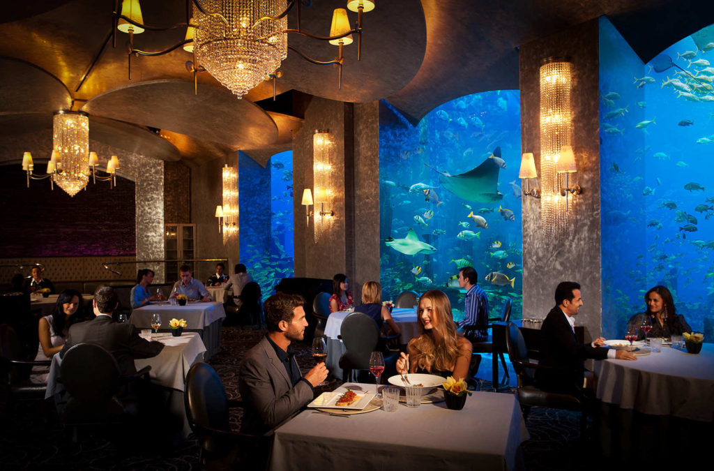 Ossiano at Atlantis, The Palm