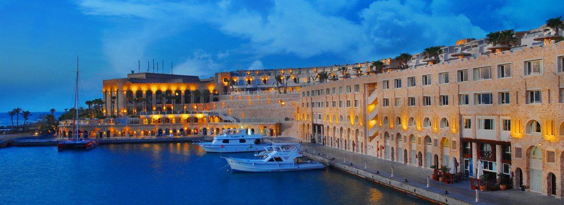 luxurious resorts near Port Ghalib