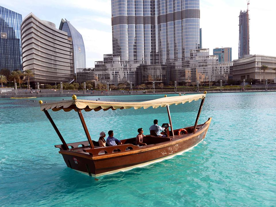Dubai Fountain Show and Lake Ride