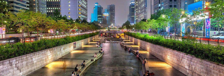 South Korea places