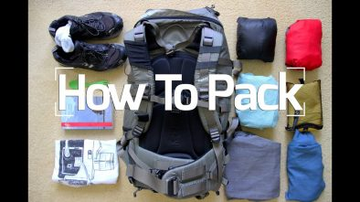 Packing Tips For Backpacking